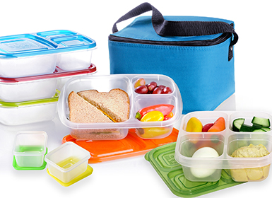 Lunch Boxes and Lids