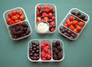 How to recycle plastic fruit punnets