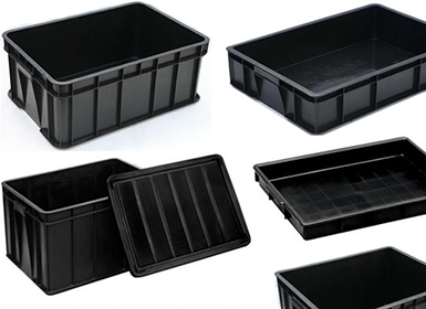 ESD Trays - Static Safe Conductive Assembly