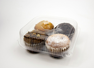 Transparent Cupcake Tray