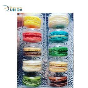 OEM Wholesale Plastic Clear Macaron Inner Tray