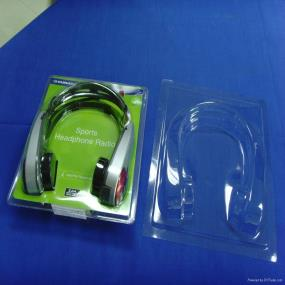 clamshell headset packaging