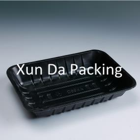 Black PP food container