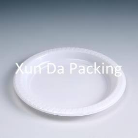 Degradable food plate