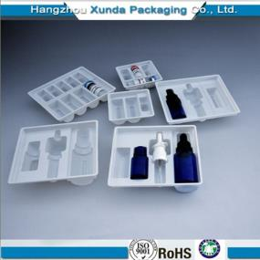 Hot sales plastic blister medical tray vial tray PVC/PET/PS