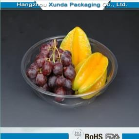 Plastic fruit container for blueberry