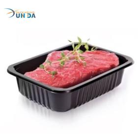 OEM and ODM Acepted Food Grade Material Plastic Meat Packaging Box