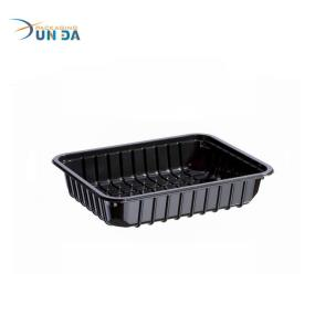 Wholesale Plastic Custom Acepted Christmas Disposable Plastic Fruit Tray