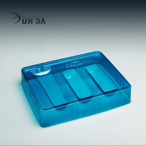 Vacuum Formed Plastic Cosmetic Blister Insert Packaging Box