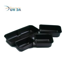 Plastic Black PP Microwaveable Different Sizes of Blister Food Tray