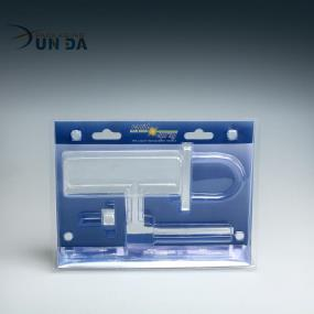 Free Sample Professional Customized Plastic Clear Trifold Clamshell Blister