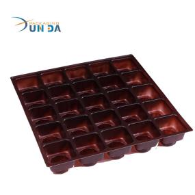 Popular Plastic Blister Detachable Chocolate Storage Box