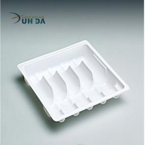 Compartments Plastic Vaccine Medical Tray For Vial