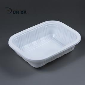 Wholesale Customizing White PP Plastic Container For Fast Food